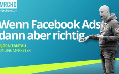 Tipps von einem der bekanntesten Facebook-Experten Deutschlands: Mit gezielten Facebook-Ads Umsätze im Onlinehandel steigern.