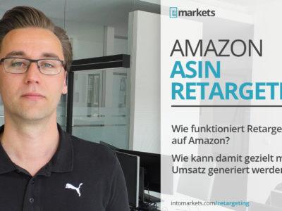 Amazon DSP: Mit ASIN-Retargeting gezielt Umsatz steigern
