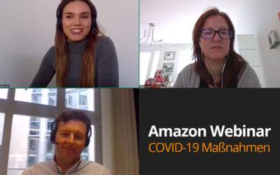 Amazon COVID-19 Maßnahmen für Seller