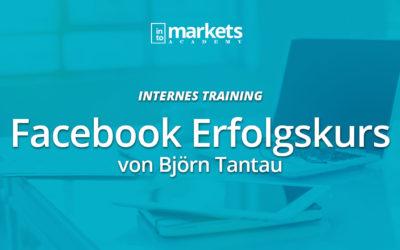 INTERN – Facebook Erfolgskurs – Björn Tantau