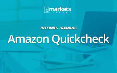INTERN – Amazon SEO Quickcheck