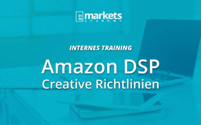 INTERN – Amazon DSP Creative Richtlinien