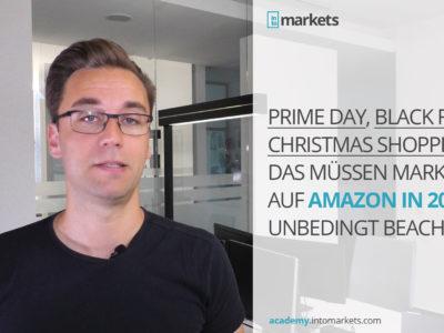 Amazon Prime Day, Black Friday und Christmas Shopping Tipps